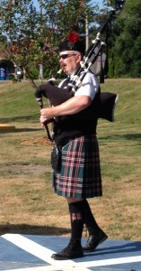 Playing Piobaireachd at the 2014 Skagit Valley Highland games