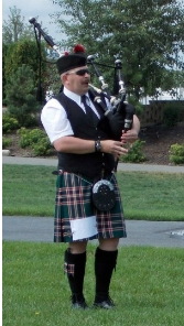 Warming up for 2013 Spokane Highland Games