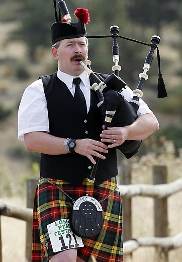 Piper Jesse Callender from Great Falls Montana at Estes Park Highland Games